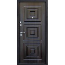 Каир 8.5мм. Черный шелк венге/Лиственница светлая Три контура уплотнения.